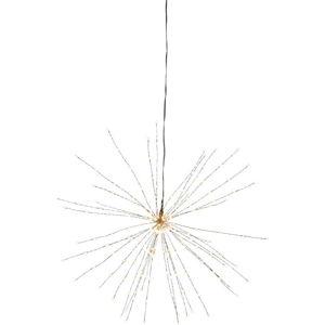 Závěsná svítící LED dekorace Best Season Firework, ⌀ 50 cm