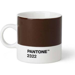 Hnědý hrnek Pantone Espresso, 120 ml