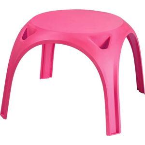 Růžový dětský stůl Curver