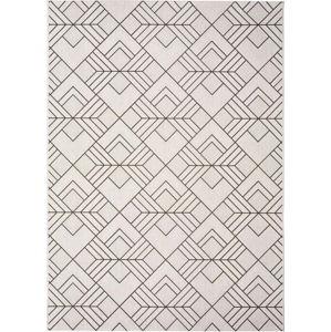 Bílobéžový venkovní koberec Universal Silvana Caretto, 120x170cm