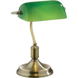 Stolní lampa Evergreen Lights Retro Verde