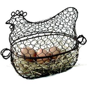 Kovový košík na vejce Antic Line Hen