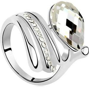 Prsten s krystaly Swarovski Elements Crystals Alaina, vel.54