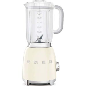 Krémově bílý stolní mixér SMEG