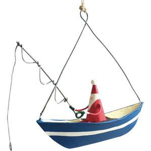 Vánoční závěsná ozdoba G-Bork Santa Fishing