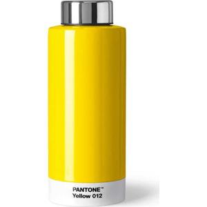 Žlutá láhev znerezové oceli Pantone, 630ml