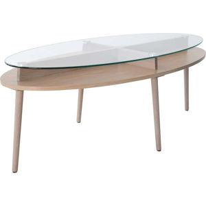 Konferenční stolek z dubového dřeva RGE Solo, šířka140cm