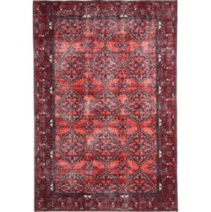 Červený koberec Floorita Bosforo, 160 x 230 cm