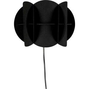 Černé nástěnné svítidlo Dutchbone Corridor