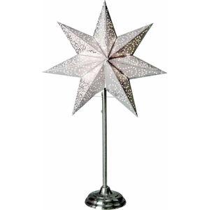 Šedá světelná dekorace Best Season Antique, výška 55 cm
