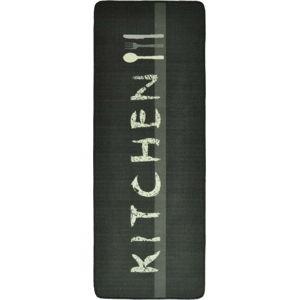 Šedý kuchyňský běhoun Hanse Home Kitchen, 67x180cm