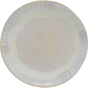 Bílý kameninový talíř Costa Nova Brisa, ⌀20 cm