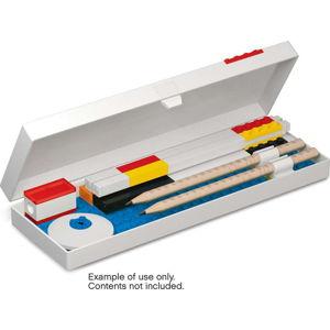 Pouzdro na tužky s minifigurkou na červeném podstavci LEGO® Stationery