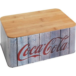 Chlebník s bambusovým víkem Wenko Coca-Cola World