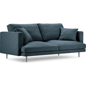 Modrá třímístná pohovka Milo Casa Piero