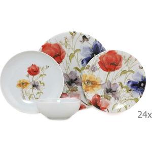 24dílný set porcelánového nádobí Kütahya Porselen Herbejo