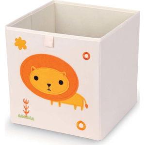 Úložný box Domopak Lion,27x27cm
