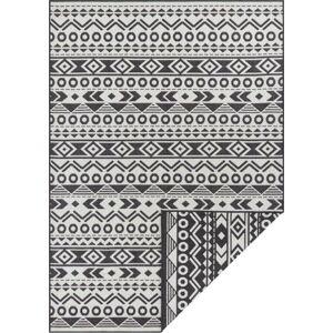 Černo-bílý venkovní koberec Ragami Roma, 160 x 230 cm