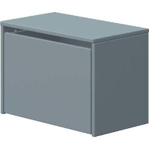 Modrá úložná lavice Flexa Play