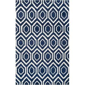 Vlněný koberec Safavieh Essex Dark, 182 x 121 cm