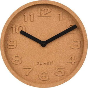 Korkové nástěnné hodiny Zuiver Cork, ø31cm