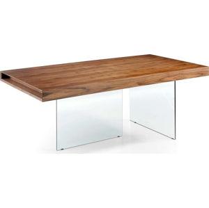 Jídelní stůl s podnožím ze skla Ángel Cerdá