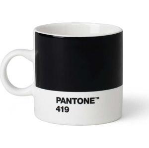 Černý hrnek Pantone Espresso, 120 ml