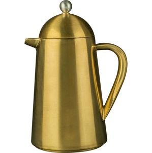 Konvice na kávu ve zlaté barvě Creative Tops Pisa, 1litr