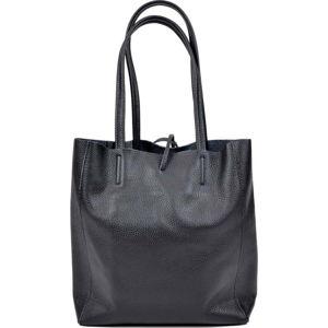 Černá kožená kabelka Sofia Cardoni Simply