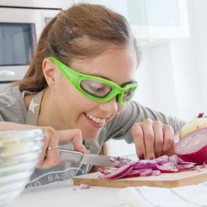 Zelené ochranné brýle pro krájení cibule InnovaGoods
