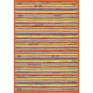 Oranžový oboustranný koberec Narma Liiva Multi, 140 x 200 cm