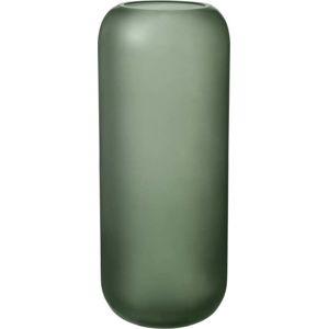 Zelená skleněná váza Blomus Bright,výška30cm