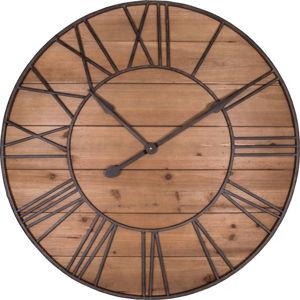 Nástěnné hodiny Antic Line Bois,ø90cm