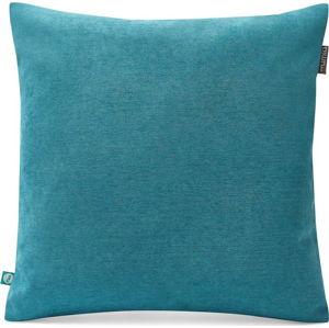 Modrý povlak na polštář Lyra, 45 x 45 cm
