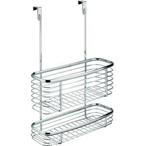 Kovový košík na kuchyňská dvířka iDesign Axis Double Basket