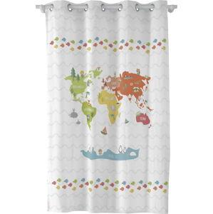 Dětský závěs Happynois World Map, 180x135cm
