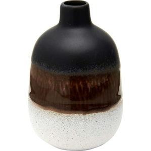 Černo-bílá váza Sass & Belle Bohemian Home Mojave