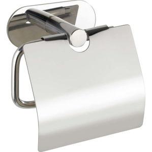 Nerezový držák natoaletní papír bez nutnosti vrtání Wenko Turbo-Loc® Orea Shine Cover