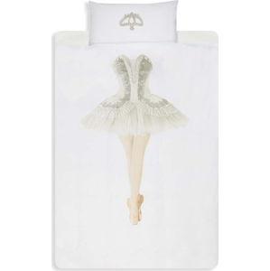 Bavlněné povlečení na jednolůžko Snurk Ballerina, 140x200cm