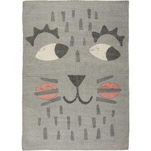 Dětský ručně potištěný koberec Nattiot Ralph Vintage, 100x140cm