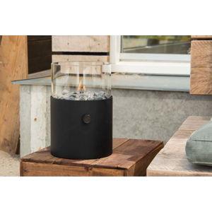 Větší černá plynová lampa Cosi Original, výška 30,5 cm