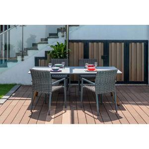 Zahradní set 4 židlí a stolu Ezeis Clipper