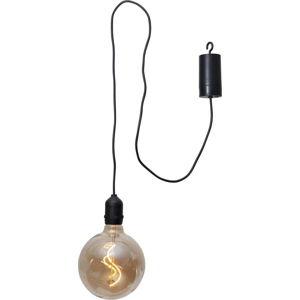 Hnědá venkovní světelná LED dekorace Best Season Glassball, délka 1 m