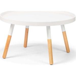 Bílý konferenční stolek loomi.design Lora
