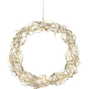 LED světelná dekorace Best Season Curly, ⌀ 30 cm