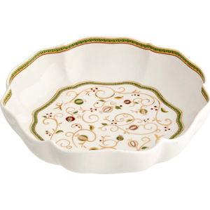 Servírovací miska s vánočním motivem Brandani Tempo di Festa, ⌀24,5cm
