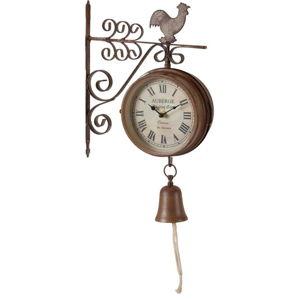 Kovové nástěnné hodiny Antic Line Bell