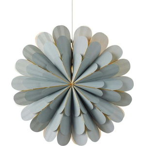 Šedá závěsná světelná dekorace Markslöjd Marigold,výška60cm