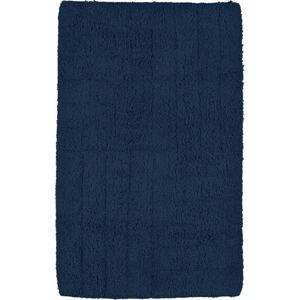 Tmavě modrá koupelnová předložka Zone, 50 x 80 cm