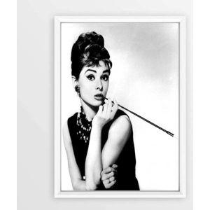 Plakát v rámu Piacenza Art Audry Smoking, 30x20cm